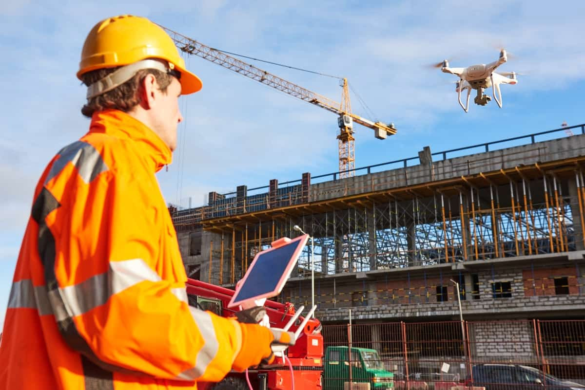 Drones In Construction: Monitoring Work Site Safety From Above Saving Money, Lives & Improving Conditions